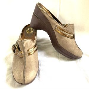 Cole Haan G Series wedge buckle shoes Size 7.5